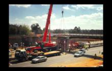 Embedded thumbnail for Atterbury Bridge Demolition Timelapse share large